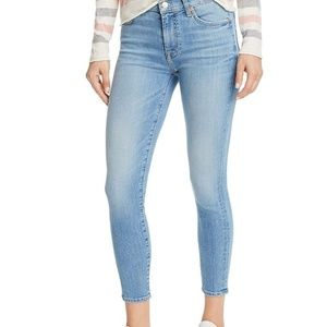7 For All Mankind the Cropped Skinny jeans size 27